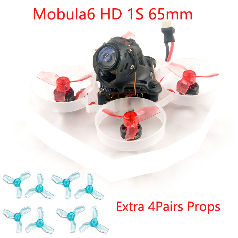 JMT Mobula6 HD Mobula 6 1S 65mm Brushless Bwhoop FPV Racing Drone with 4in1 Crazybee F4 Lite Runcam Nano3 Preorder Happymodel