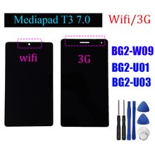 "7 ""per Huawei Mediapad T3 BG2 W09 BG2 U01 BG2 U03 display Lcd Touch Screen Digitizer assembly + STRUMENTI"