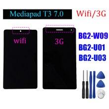 """7 """"voor Huawei Mediapad T3 BG2 W09 BG2 U01 BG2 U03 Lcd display Touch Screen Digitizer vergadering + GEREEDSCHAP"""