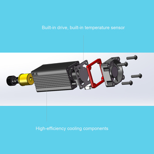 Image 2 - 레이저 커팅 머신, CNC, DIY 레이저에 대 한 TTL / PWM 변조와 450nm 전문 7W 레이저 조각 모듈 푸른 빛
