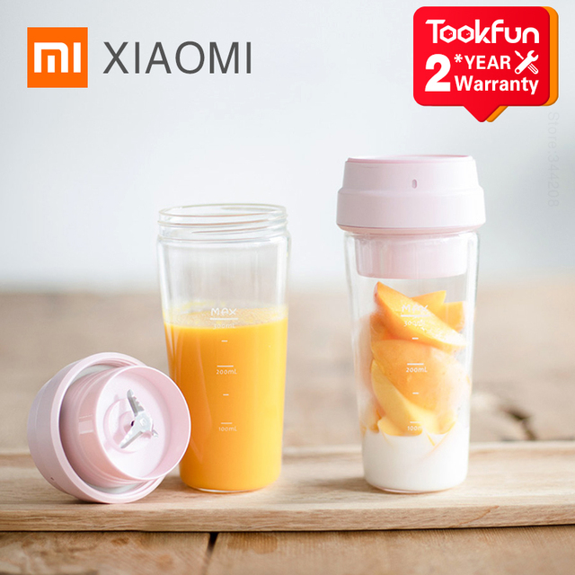XIAOMI MIJIA 17PIN Star Fruit Cup Small Portable blender Juicer mixer Kitchen food processor 400ML charging 30 Seconds juicing 1