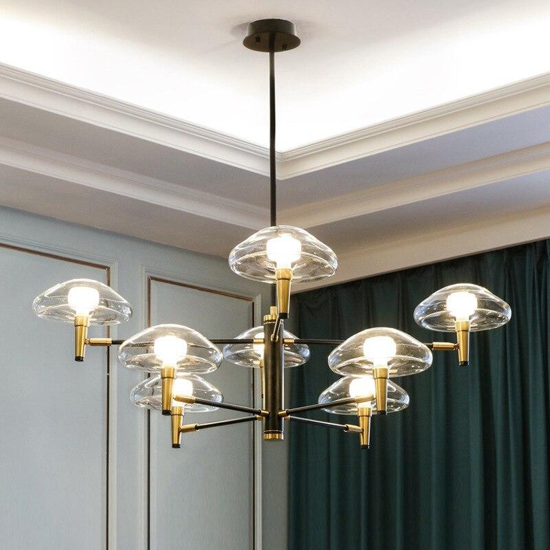 Modern Living Room/bedroom/minimalist/restaurant Pendant Light Nordic Clothing Decoration Glass Ball Pendant Lamp Luminaria
