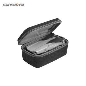 Image 5 - Sunnylife Portable Mavic Air 2 étui de transport sac à bandoulière Drone sac télécommande sac de rangement pour Mavic Air 2