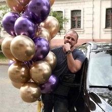 30pcs Latex Balloons 12inch Gold Silver Black Metal Wedding Decorations Matte Helium Globos Birthday Party Decoration Kids Adult
