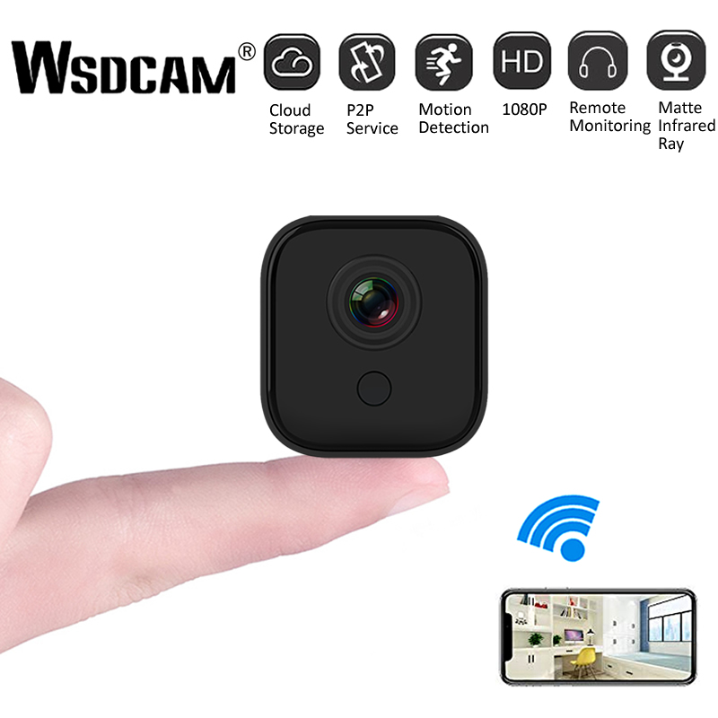 Wsdcam A11 HD 1080P Mini Câmera IP Wifi Night Vision CCTV Vídeo De Detecção De Movimento Micro Câmera de Segurança Casa Inteligente DVR Camcorder