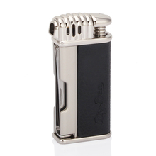 GALINER Metal Gadgets Portable Cigar Lighter Butane Gas Cigarette Travel Accessories with Cutter