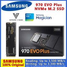 100% מקורי סמסונג 970 EVO בתוספת M2 SSD 2TB 1TB 500GB 250G M.2 Nvme 2280 פנימי כוננים קשיחים HDD עבור מחשב נייד שולחן עבודה דיסק