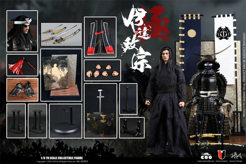 COOMODEL SE052 1/6 Series of Empires Date Masamune Masterpiece Figure Collectible