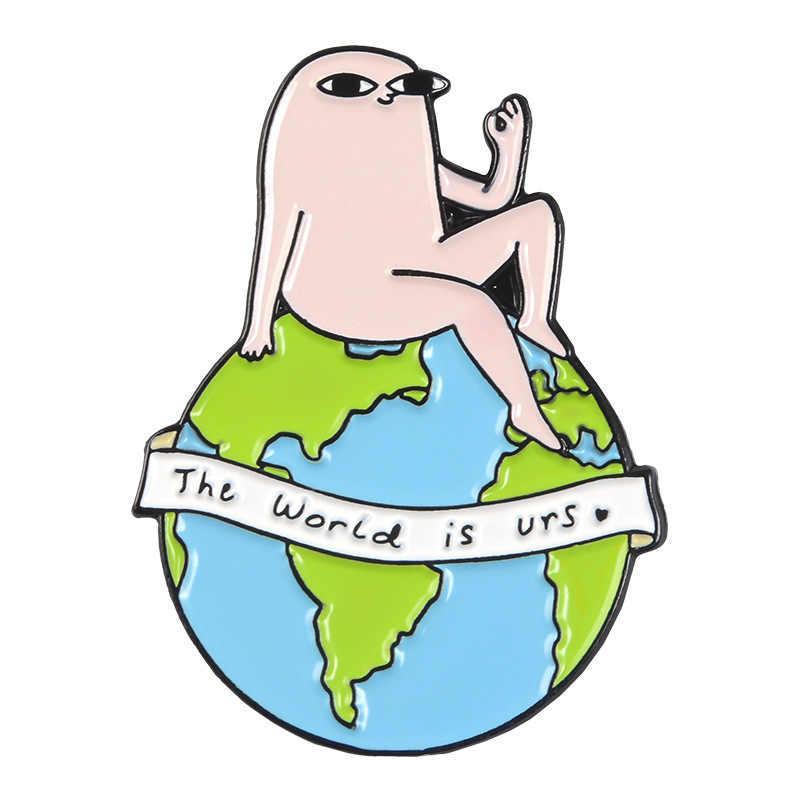 Śliczne Ketnipz Meme przypinki na klapę na plecak śmieszne śmieci życie cytat emalia szpilki broszki na torba na ubrania odznaki szpilki up prezent