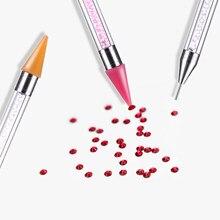Дизайн ногтей расставить комплекс инструмента двойной сверло с точечной фиксацией дезодорант в виде воскового наконечник украшения для но...