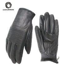 רטרו uglybros ubg  516 כפפות moto rcycle כפפות קטר כפפות אמיתי עור moto כפפות יוניסקס Moto rbike כפפות 3 צבעים