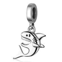 Charm Beads Pandora Bracelet World-Shark Jewelry Underwater 100%925-Sterling-Silver New