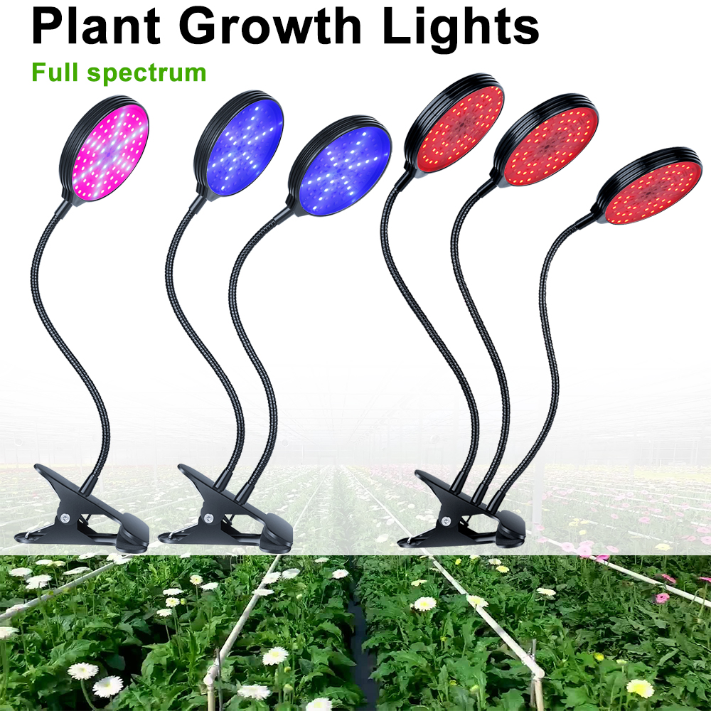 USB Fitolampy Light Bulbs For Plant Growth LED Full Spectrum Phyto Lamp For Greenhouse Flowers Plants Lighting LED Grow Light