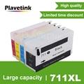 Картридж Plavetink 711 XL для принтера HP 711 XL, подходит для принтера Designjet T120 24 T120 610 T520 24 T520 36 T520 610 T520 914