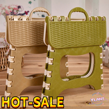 Space Saving Plastic Chair Easy Storage Home Kitchen Indoor Multifunctional Portable Folding Comfortable Stool