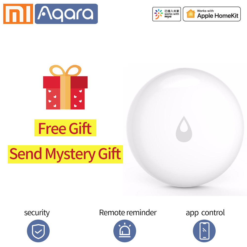 Aqara Water Immersing Sensor Remote Alarm IP67 Waterproof Humidity Leak Soaking Sensor Security Xiaomi Smart Home Sensor APP