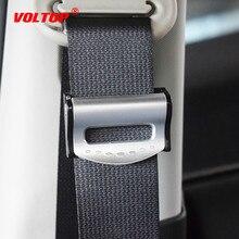 2 pièces universel voiture ceintures Clips sécurité réglable Auto arrêt boucle en plastique Clip 4 couleurs intérieur accessoires voiture style