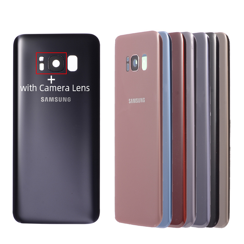 Battery Back Cover For Samsung Galaxy S8 G950F Rear Housing For Samsung Galaxy S8 Back Battery Cover Case Replacement Parts
