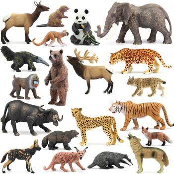Oryginalne oryginalne dzikie zoo farm safari sawannowy lew zwierząt król ptak seria leopard kot pantera Jaguar model zabawka na prezent dla dziecka tanie i dobre opinie NewBiFo Żołnierz gotowy produkt Żołnierz zestaw Żołnierz części i podzespoły elektroniczne Wyroby gotowe Unisex