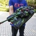 44 см RC Военный танк радио танк Тактический Автомобиль Главная битва военный главный боевой танк модель звук Recoil электронная хобби Игрушки д...