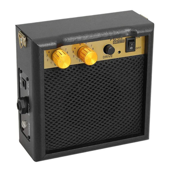 Mini 5w Portable Guitar Amplifier Amp Speaker With 3.5mm Headphone Output High-Sensitivity Musical Instruments