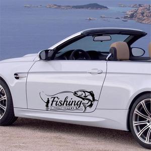 Hot Sale Go Fishing Car Sticke