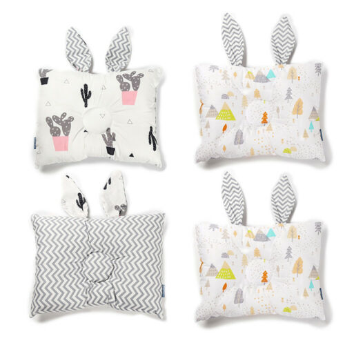 Pudcoco Baby Cot Pillow Shaping Pillow Flamingo Preventing Flat Head Neck Syndrome For Newborn Girl Boy Rabbit Animal Pillow