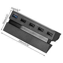 2021 Mới HUB 5 Cổng USB 3.0 Tốc Độ Cao Điều Khiển Sạc Bộ Chia Bản Mở Rộng Cho PS4