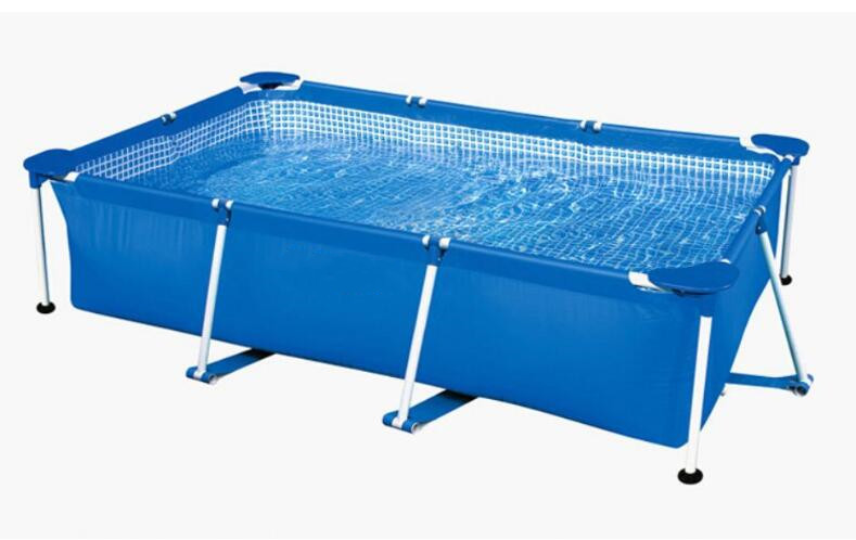 L3*W2*H0.75m Inflatable Swimming Pool Outdoor Swimming Pool With Frame Flex Swimming Pool High Tensile