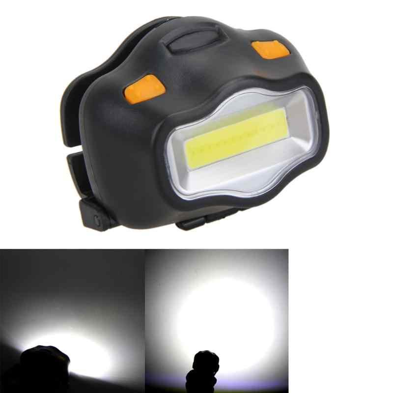 12 COB phare LED pêche Camping équitation éclairage extérieur lampe frontale réglable 3 modes bandeau élastique phare pratique