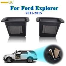 Caja de almacenamiento de puerta de coche, bandeja con reposabrazos, contenedor para Ford Explorer 2011, 2012, 2013, 2014, 2015, accesorios para automóviles