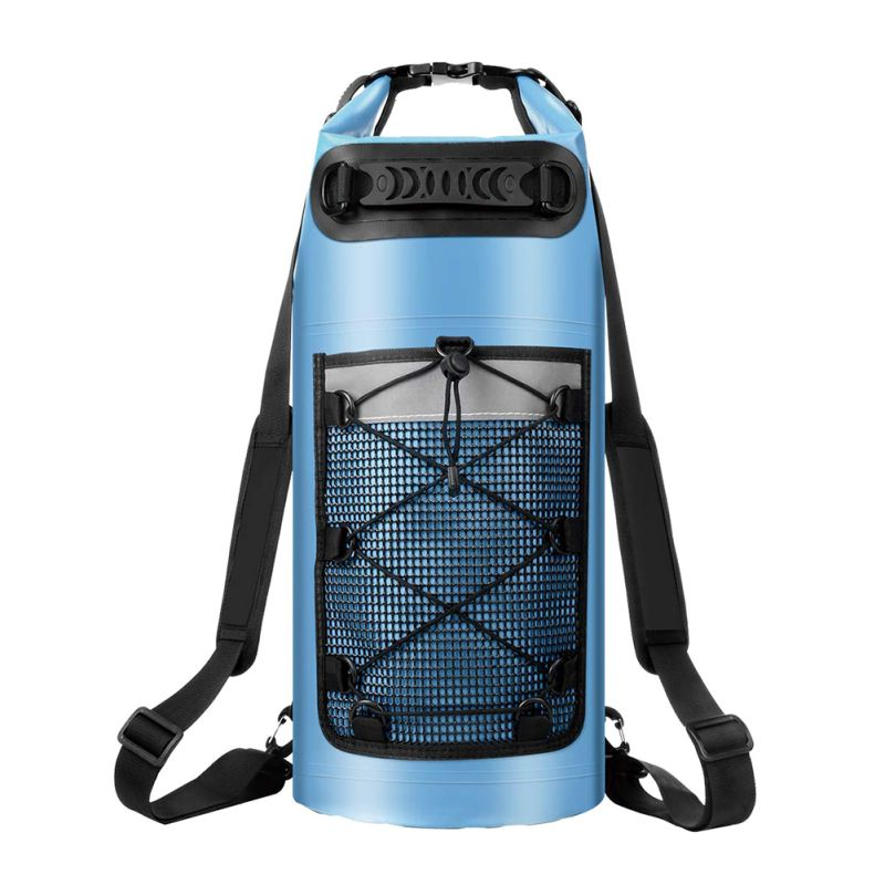 1pc Multi-function Waterproof Dry Bag With Phone Case Swimming Bag Roll Top Dry Sack For All Outdoor Activities