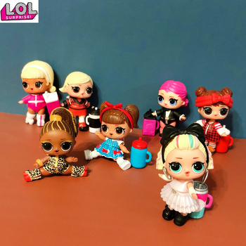 LOL Surprise  Doll Original 4 Generation Space Clothing Accessories Dolls Action Figure Model Toy Girl Christmas Gift - discount item  31% OFF Dolls & Accessories