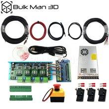 Tarjeta de movimiento USB de 5 ejes, STB5100, paquete electrónico para fresadora de grabado CNC WorkBee, de escritorio, fresadora CNC de plomo
