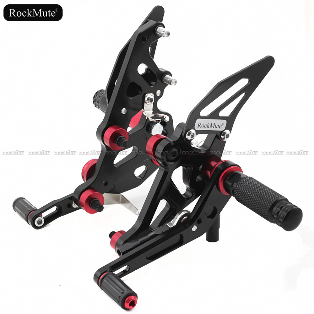For YAMAHA FZ-07 MT-07 2014 2015 2016 2017 2018 CNC Aluminum Motorcycle Rearset Rear Set Foot Pegs Pedal Footrest MT07 FZ07