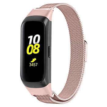 Smart Watch Band Luxury For Samsung galaxy fit SM-R370 Watchstrap Stainless Steel Milanese Magnetic Wrist band Bracelet