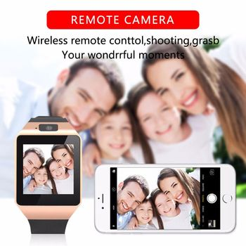 Bluetooth DZ09 Smart Watch Relogio Android smartwatch phone fitness tracker reloj Smart Watches subwoofer Consumer Electron 4