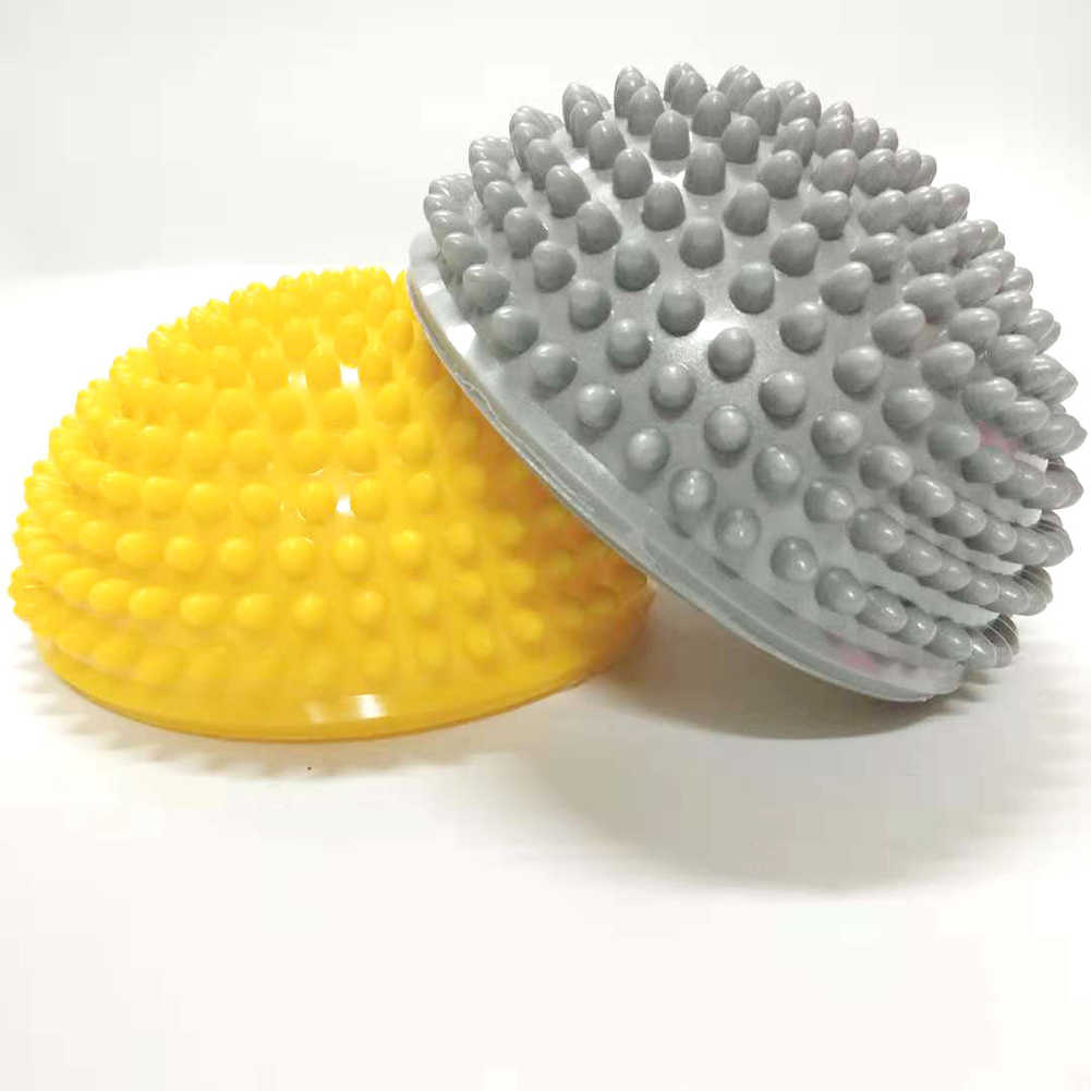 Çocuklar şişirme yarım küre Durian ayak taban kas stres giderici masaj topu oyuncak eğitim kavrama