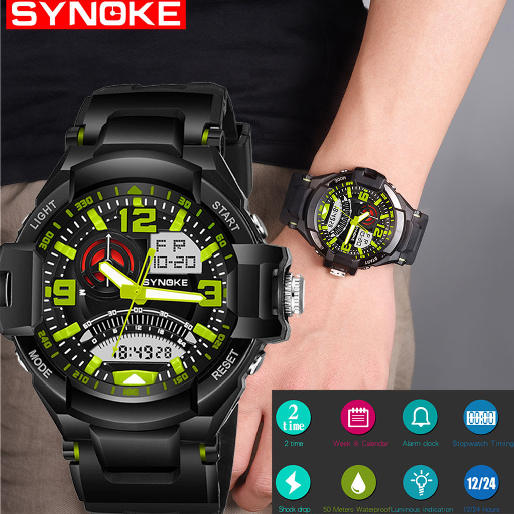 Digital watch  sports watches LED watch men Army Watches Brand Digital Backlight waterproof Relogio Masculino erkek kol saati