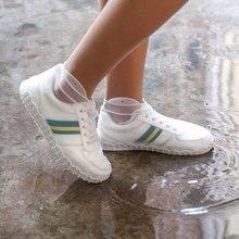 1 Pair Reusable Latex Waterproof Rain Shoes Covers Slip-resistant Rubber Boot Overshoes S/M/L Accessories