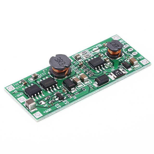 A7-18650 شحن البطارية تحويل التفريغ UPS حماية تيار مستمر 5 فولت-12 فولت إلى 12 فولت شحن تصعيد الداعم وحدة ليثيوم الجهد