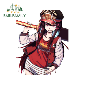 EARLFAMILY 13cm x 10.3cm For Fate Nobunaga Car Stickers Vinyl Car Wrap Decal Campervan Scratch-proof Sticker Decoration image