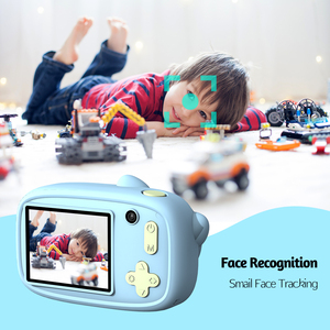 Image 5 - Mini Cartoon Kids Digital Camera 26MP 1080P Video Camera Camcorder 2.4 Inch IPS Screen Dual Camera Lens Shockproof  for Children