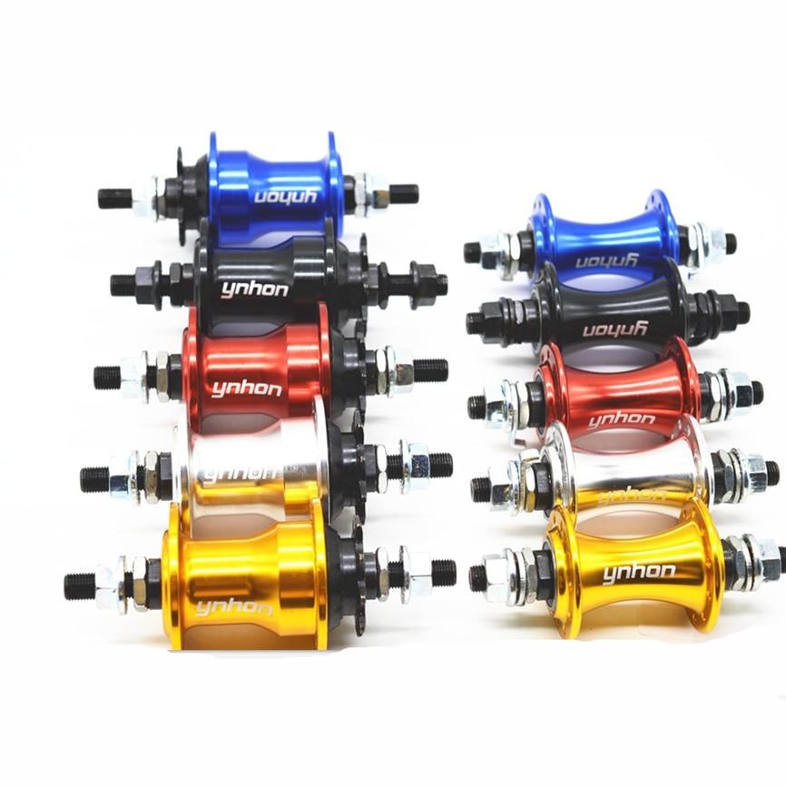 Ynhon Folding Bike 14inch 412 Wheelset Hub 20Holes V Brake 4 Sealed Bearing Bicycle Hubs Alloy 9T Small Freewheel 74/85mm(China)