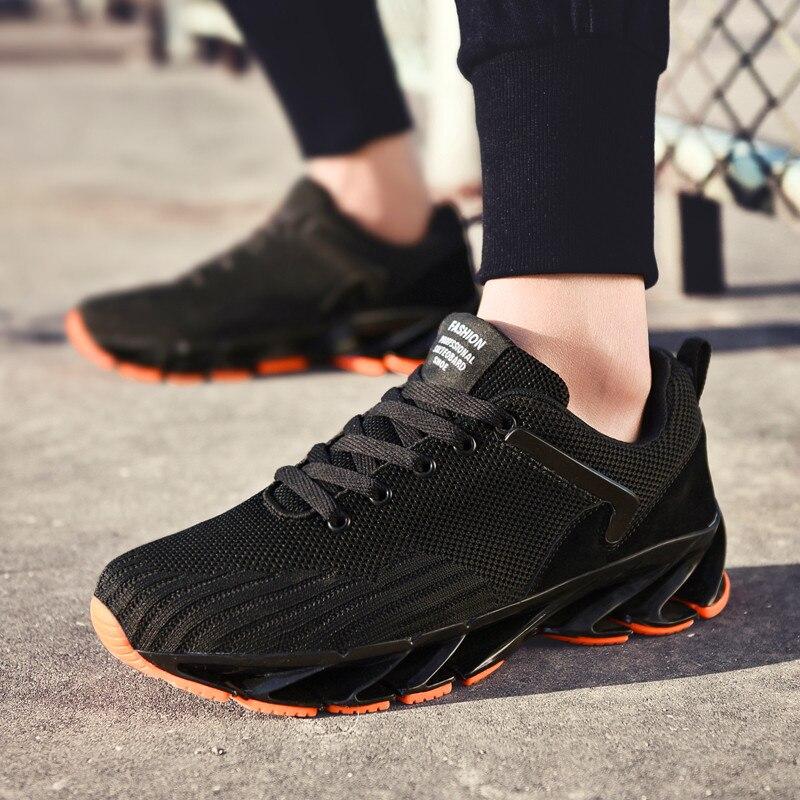Мужская повседневная обувь, размеры 39 45 мужские летние туфли на плоской подошве из сетчатого материала, лоферы на толстой подошве, повседне