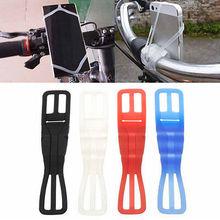 Универсальный силиконовый держатель для сотового телефона синий велосипед Автомобиль Черный Красный Белый ao 99 S0307 отправлено из Италии