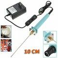 Pena elétrica da máquina de corte do poliestireno da espuma com adaptador cortador de espuma de aço inoxidável de corte portátil do isopor 30 w 10 cm
