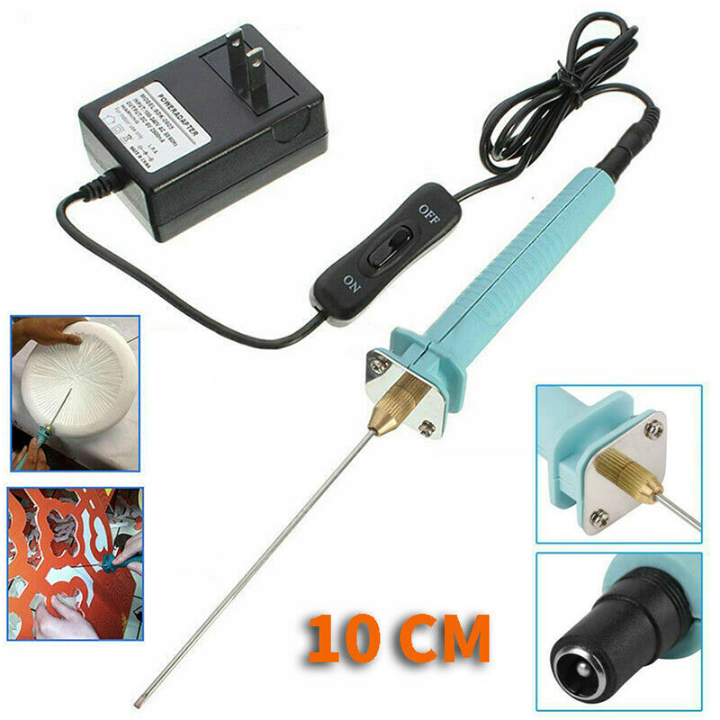Portable Styrofoam Cutting Stainless steel Foam Cutter 30W 10CM Electric Foam Polystyrene Cutting Machine Pen With Adaptor