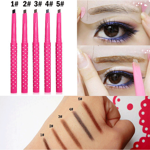 5 Color Eyebrow Extension Pencil Waterproof Henna Eyebrow Tattoo Pen Long Lasting Makeup Eye Brow Tint Enhancer Beauty Cosmetics 1