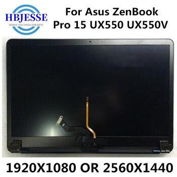 Оригинал с сенсорным экраном 15,6 Полностью Собранный ASUS ZenBook Pro UX550 UX550V ноутбук светодиодный ЖК экран цифровое Стекло Замена